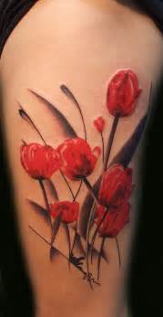 25 tulip tattoo images pictures and designs