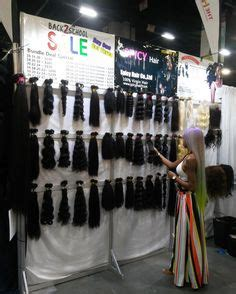 booth at bronner brothers traval season you need spicyhair add beauty on the road e