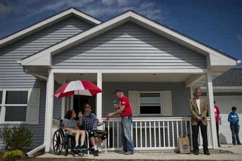 habitat for humanity dow dedicate 50 000th home in