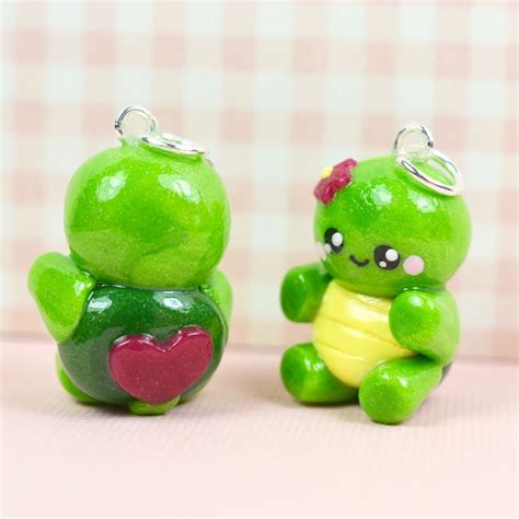 Handmade Polymer Clay Charms - 118 best polymer clay kawaii jewelry images on