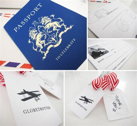 21 Fun Travel Themed Birthday Party Ideas Tip Junkie Travel Themed Invitation Template Free