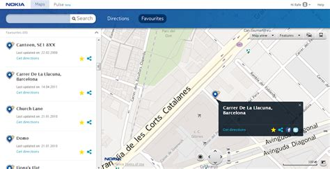 nokia maps nokia maps adds favourites sync in version 2 0