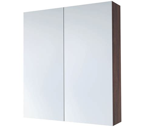 bathroom mirror cabinets walnut 2 door cupboard with saneux austen 600mm pacific walnut 2 door mirror cabinet