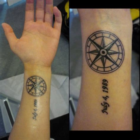 nautical wrist tattoos 74 awesome compass wrist designs