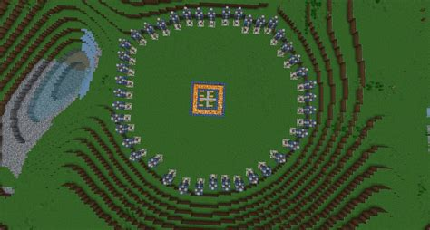 Gamis Qrana Hunger Arena Minecraft Project