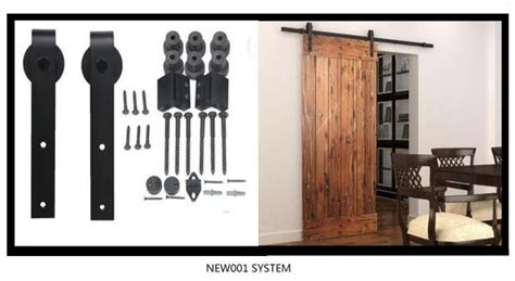 barn door opener ss304 soft closing modern sliding barn door opener for