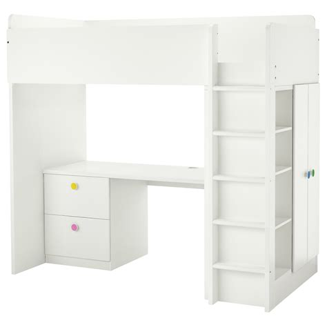 Bunk Beds With Desk Ikea Bunk Beds For 8 To 12 Ikea
