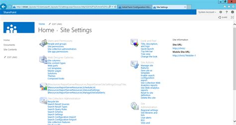 sharepoint 2013 site templates sharepoint 2013 foundation preview steps by steps setup