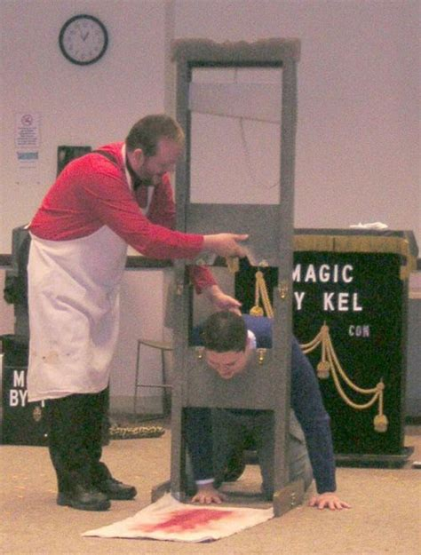 head haircut before guillotine related keywords suggestions for magic show guillotine