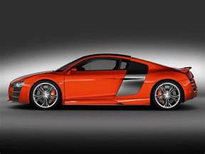 orange audi r8 vector graphics freevector