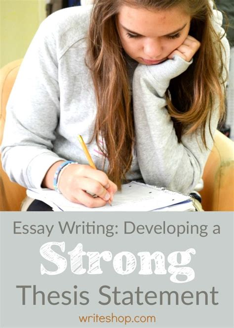 Compose Strong Thesis by 25 B 228 Sta Thesis Writing Id 233 Erna P 229 Kreativt