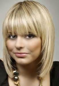 rounded layer haircuts 10 bob hairstyles with bangs for round faces bob