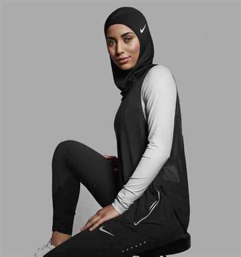 nikes custom  hijab athletic wear