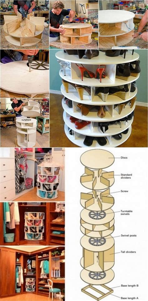 how to make a lazy susan for a kitchen cabinet how to build a lazy susan shoe rack pictures photos and