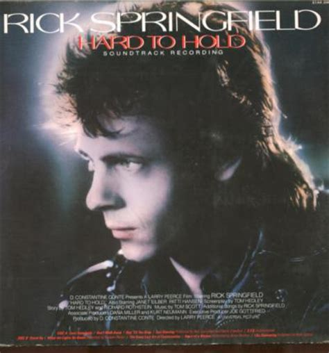 Rick Springfield The Encore Collection Cd to hold