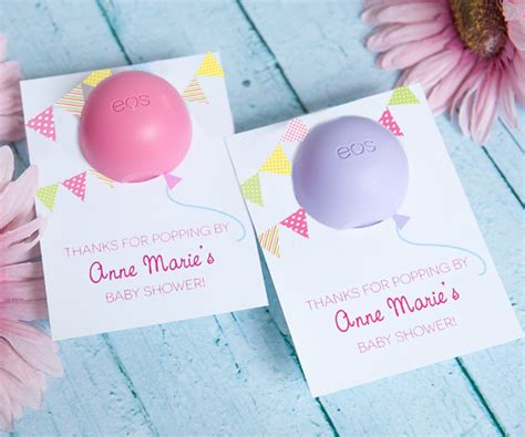 eos template for baby shower favors free baby shower favor with eos lip balm personalized printable