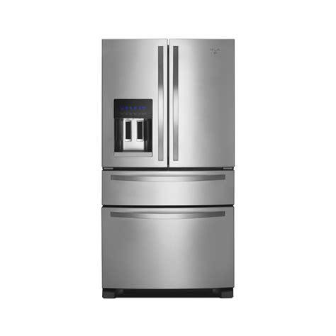 door refrigerator sears outlet whirlpool wrx735sdbm 25 0 cu ft door