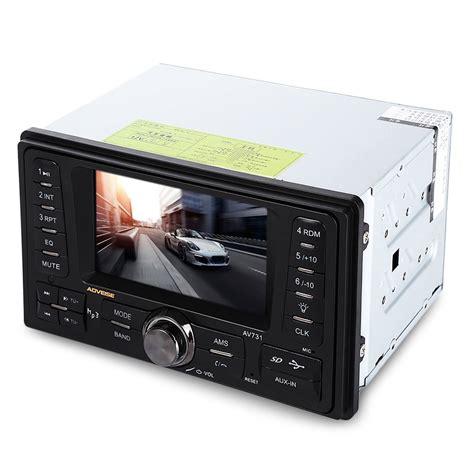 Usb Mp5 Generic Av731 4 3 Inch Car Audio Mp5 Player Rear View