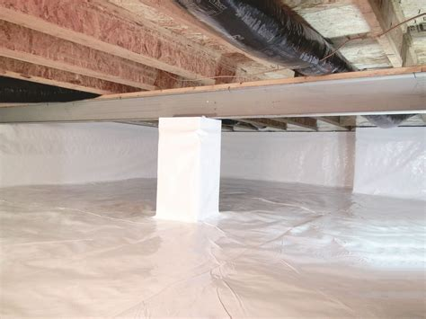 vapor barrier under house how to prevent mold under house