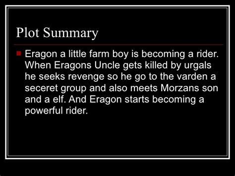 eragon book report power point book reports j5