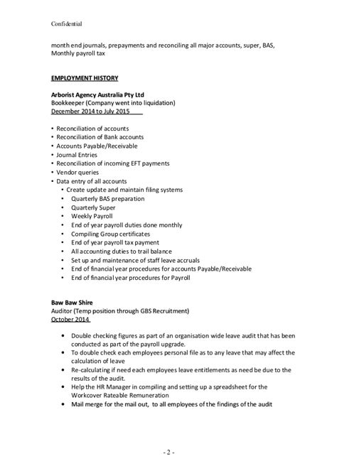 arborist resume free excel templates