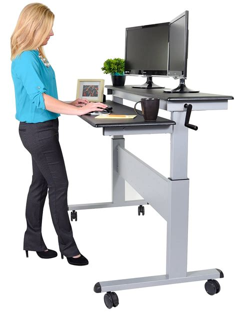 10 best height adjustable standing desk reviews 2019