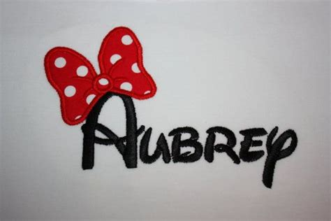 minnie mouse bow tattoo so fitting since im obsessed woth this name monogrammed
