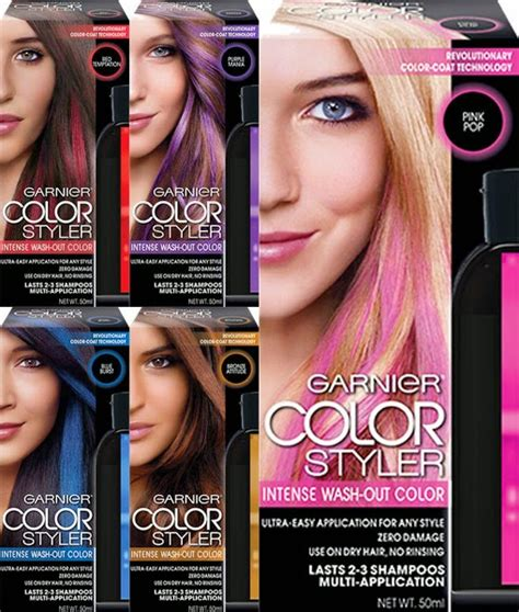 The Hair Styler Reviews by Garnier Color Styler Review