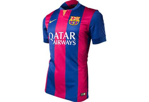 Jersey Seven Barcelona Home 1415 Medium nike fc barcelona 2014 2015 authentic match home soccer
