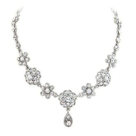 Hochzeitsschmuck Vintage by Vintage Flower Wedding Jewellery Set Zaphira Bridal