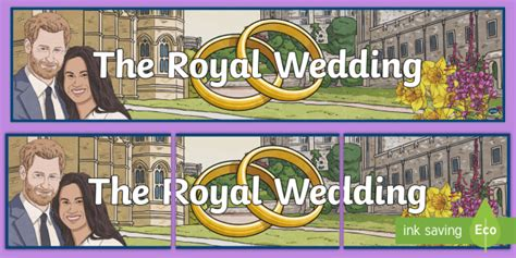 wedding border twinkl ks2 the royal wedding display banner harry and meghan the