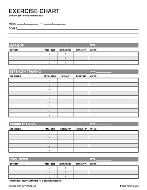nasm workout template nasm workout template pdf eoua