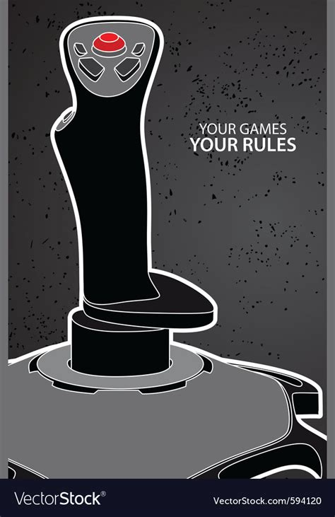 console controller for pc pc or console controller royalty free vector image