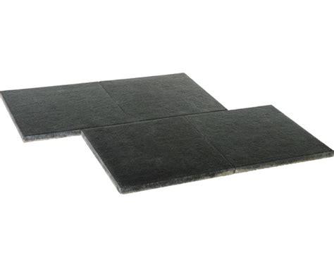 Terrassenplatten Istone Premium by Diephaus Terrastegel Istone Premium Zwart Basalt 60x60x4