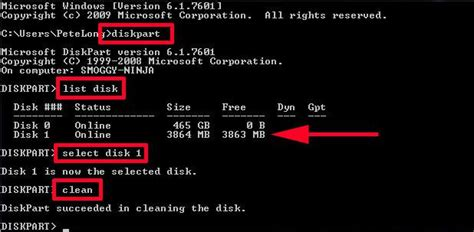 diskpart format vs clean solutions to deleting drive c efi system volume recovery