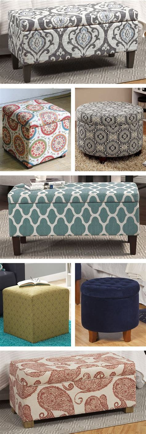 diy ottoman storage bed best 20 ottomans ideas on diy ottoman