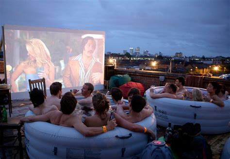 Film Pop Up | hot tub cinema a pop up movie theater with hot tubs