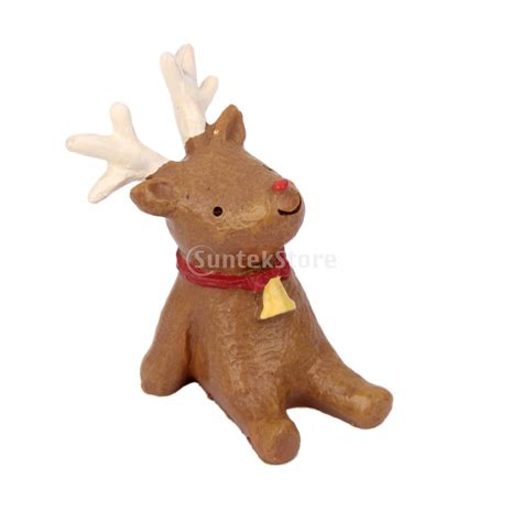 resin elk reindeer christmas ornament in christmas from