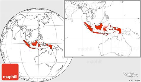 blank location map  indonesia