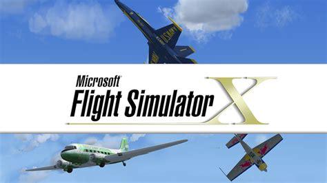 Microsoft Flight Simulator X microsoft flight simulator x landing on steam next week