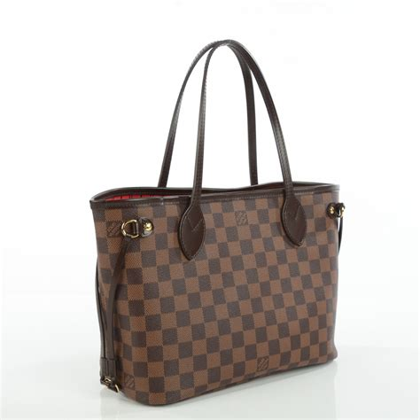 Lv Foxy Pm Damier louis vuitton damier ebene neverfull pm 113319