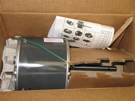 emerson condenser fan motor new emerson 1 3 1 6 hp hvac ac condenser fan motor