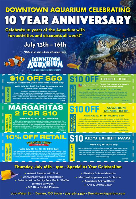 printable restaurant coupons denver downtown aquarium denver coupons 2017 2018 best cars