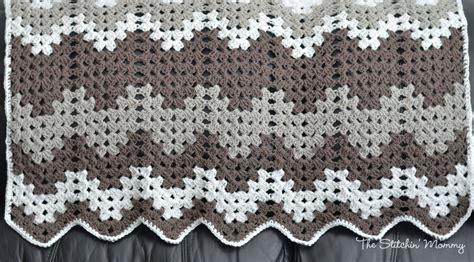Free Pattern Granny Ripple Afghan | granny ripple blanket the stitchin mommy