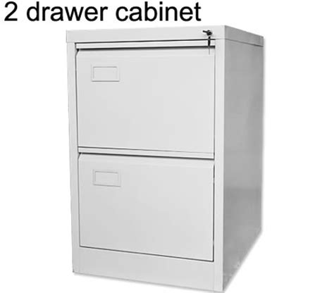 2 Drawer Steel File Cabinet With Lock by Steel Filing Cabinet Featuring 2 Storage Drawers With Lock