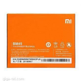 Baterai Batre Xiaomi Mi2a Mi 2a Bm40 Bm 40 Original baterie xiaomi giga tel