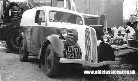 Lamps From The 60s by Ford Thames 5cwt Van E494c And Fordson Badged Examples