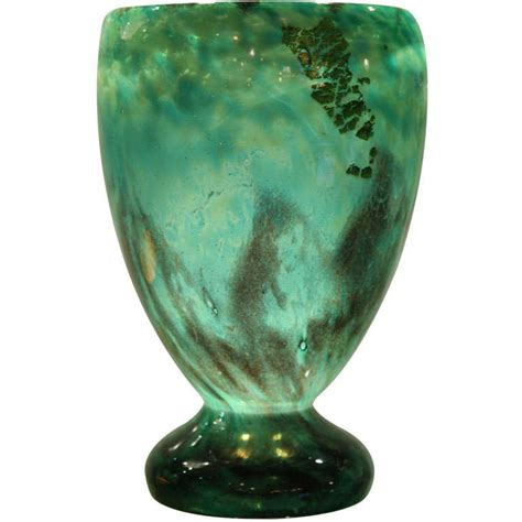 Deco Glass Vases by Daum Deco Glass Vase At 1stdibs
