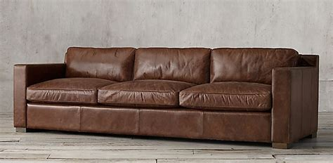 restoration hardware leather sofa knockoff restoration hardware lancaster sofa knock off refil sofa