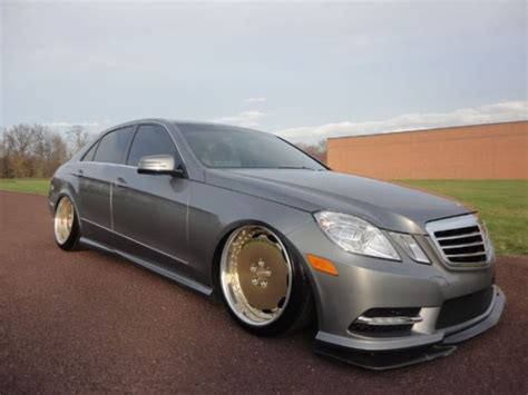 bagged mercedes e class 2012 mercedes benz e350 vip bagged custom show car full